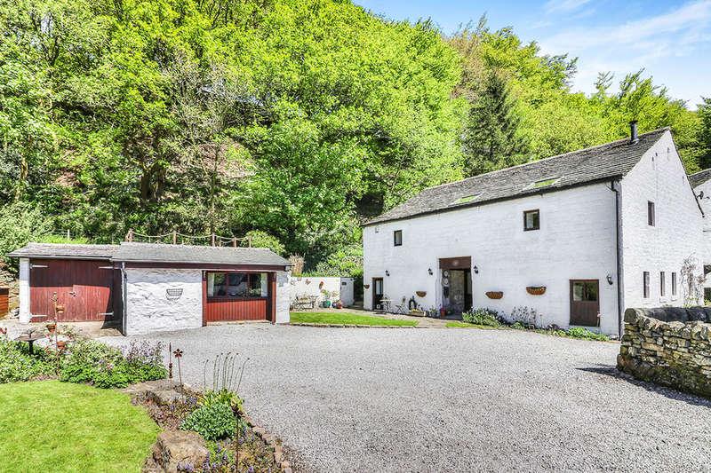 5 Bedrooms Detached House for sale in Hill House Barn Long Lane, Todmorden, OL14