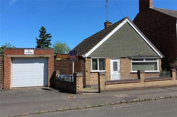 3 Bedrooms Detached Bungalow for rent in Granville Street, Market Harborough, Leicestershire