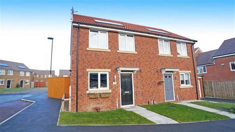 2 Bedrooms Semi Detached House for rent in Caleb Drive, Wallsend