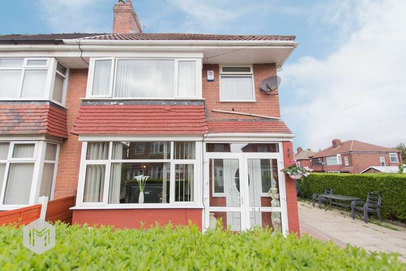 3 Bedrooms Semi Detached House for sale in Sidley Avenue, Manchester, M9