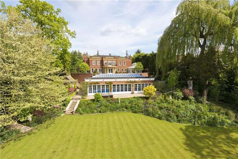 5 Bedrooms Detached House for sale in Hill House Drive, St George's Hill, Weybridge, Surrey, KT13