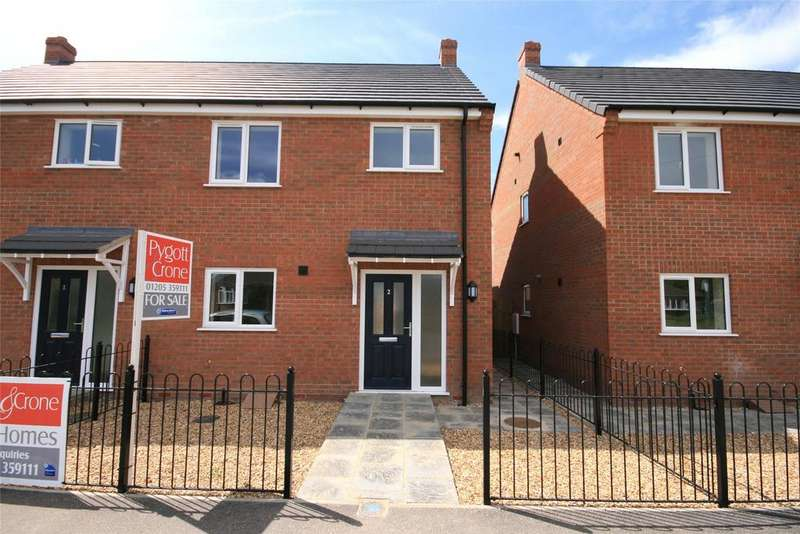 3 Bedrooms Semi Detached House for sale in Daggers Drawn, Station Road, PE20