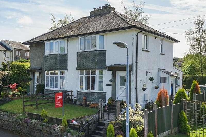 3 Bedrooms Semi Detached House for sale in Craonelle, Park Avenue, Windermere, Cumbria, LA23 2AR