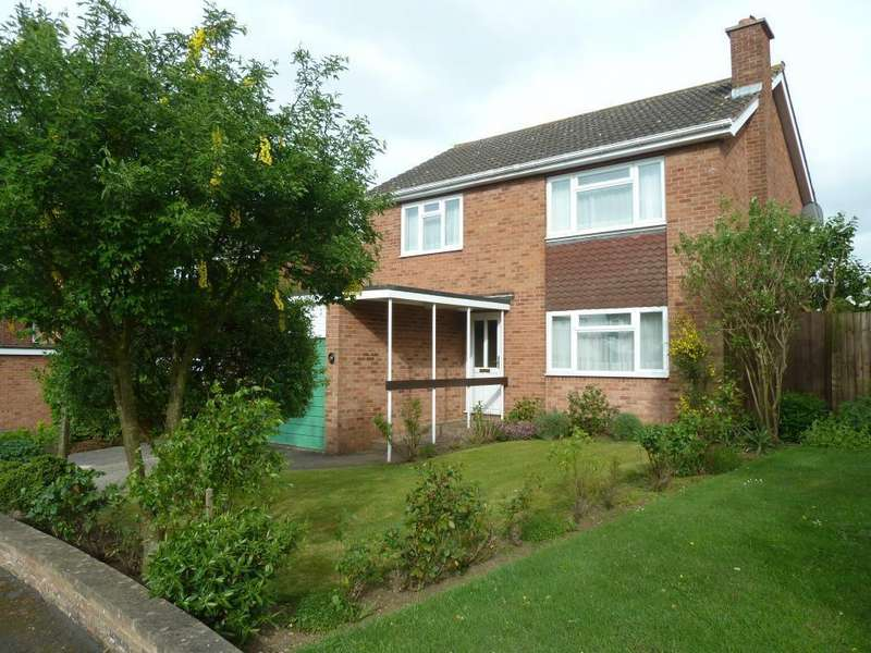 4 Bedrooms Detached House for sale in Waltham Rise, Melton Mowbray