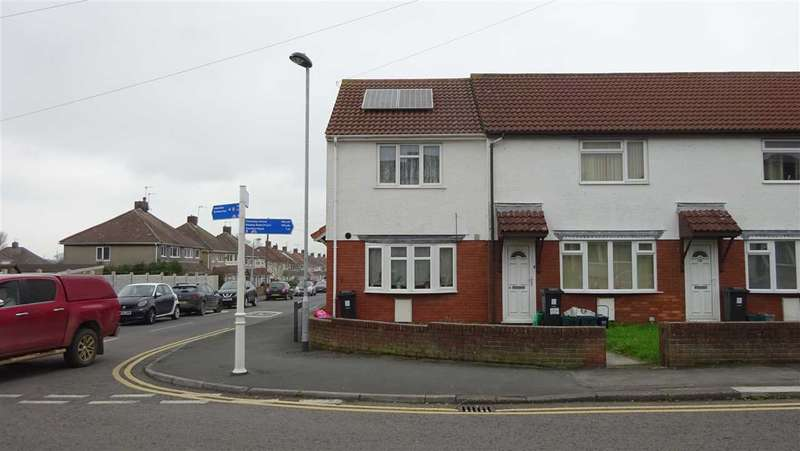 2 Bedrooms End Of Terrace House for sale in Durban Road, Patchway, Bristol