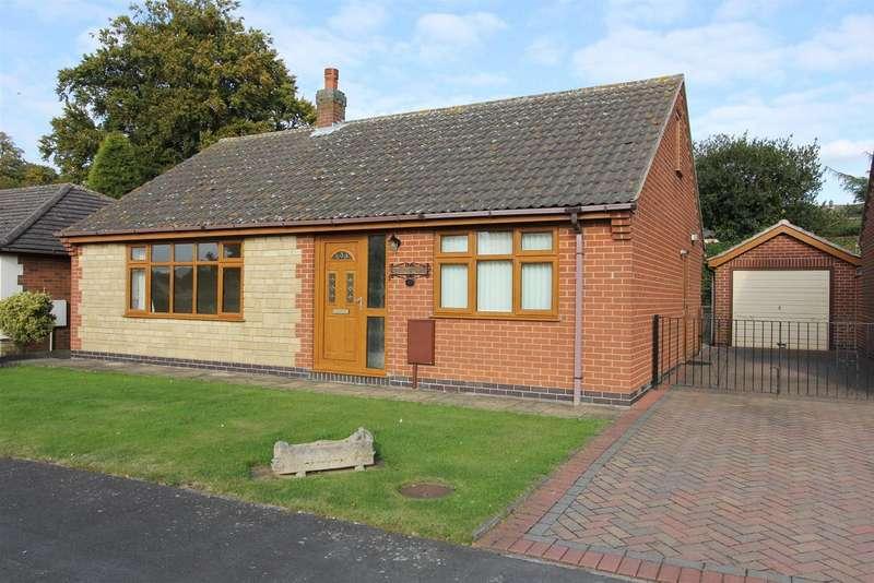2 Bedrooms Property for sale in Fosbrooke Close, Ravenstone, LE67 2AB