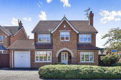 5 Bedrooms Detached House for sale in Manor Road, Willington, Crook, Co Durham, DL15