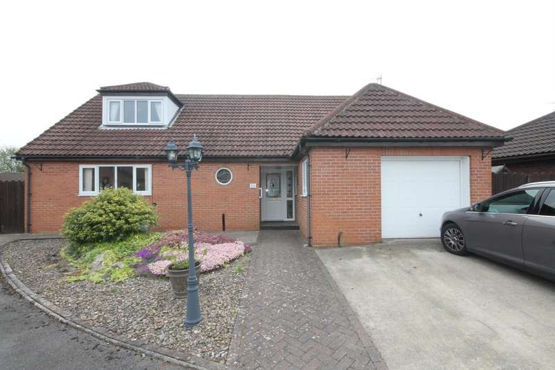 4 Bedrooms Semi Detached Bungalow for sale in Windsor Court, Shildon
