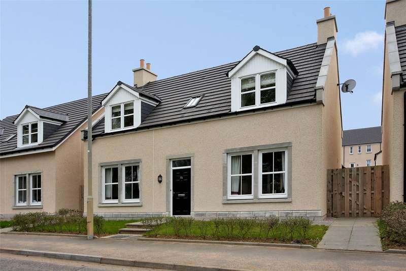 4 Bedrooms Detached House for sale in 72 Denwell Road, Insch, Inverurie, Aberdeenshire, AB52