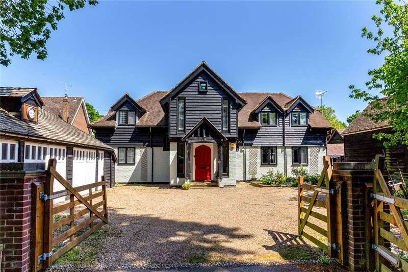 5 Bedrooms Detached House for sale in Mid Street, South Nutfield, Surrey, RH1
