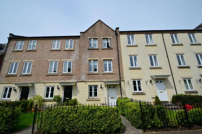 3 Bedrooms Town House for sale in Exeter
