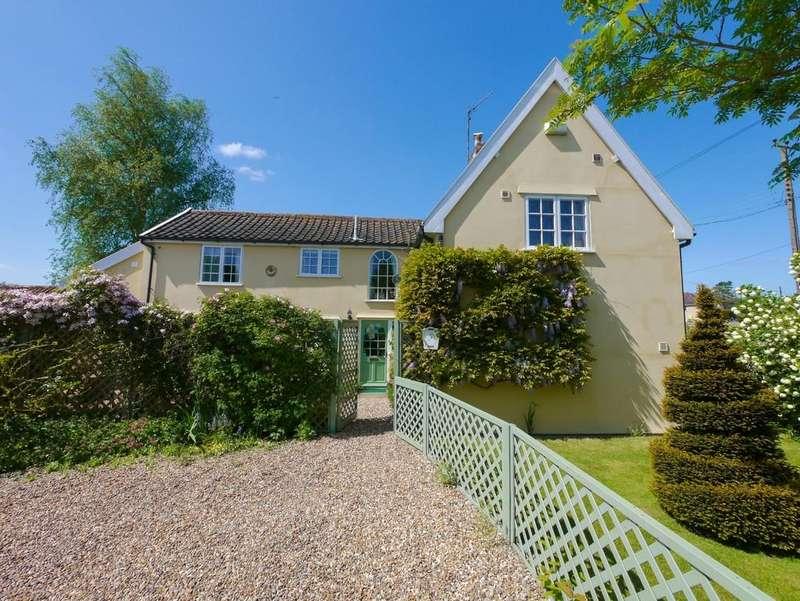 4 Bedrooms Detached House for sale in Alde Cottage, Bruisyard, Suffolk