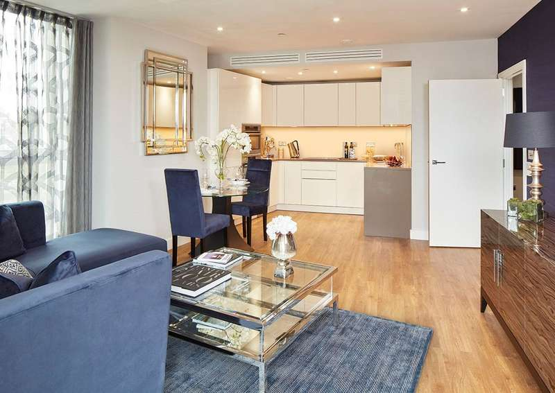 2 Bedrooms Apartment Flat for sale in Waterford Point, Nine Elms Point, Battersea, London, SW15