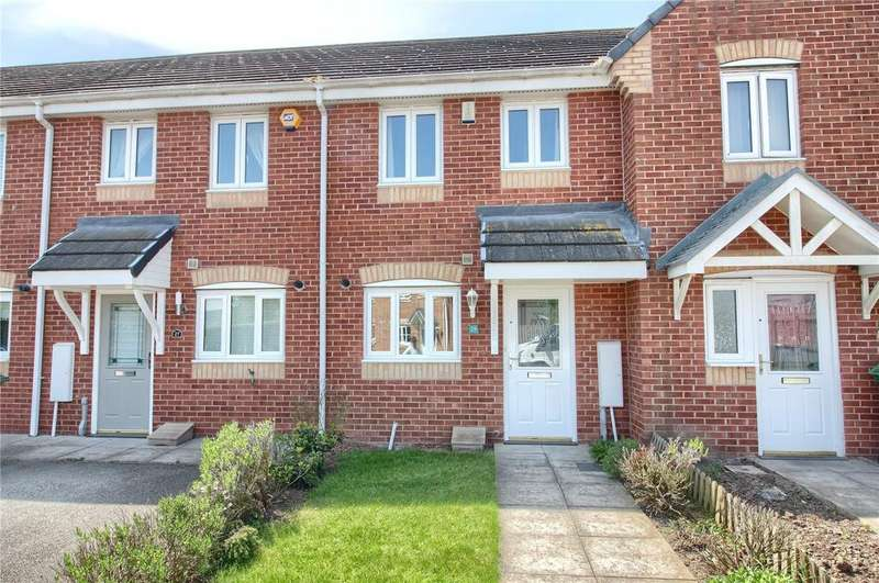 2 Bedrooms Terraced House for sale in Bevan Close, Stockton-on-Tees