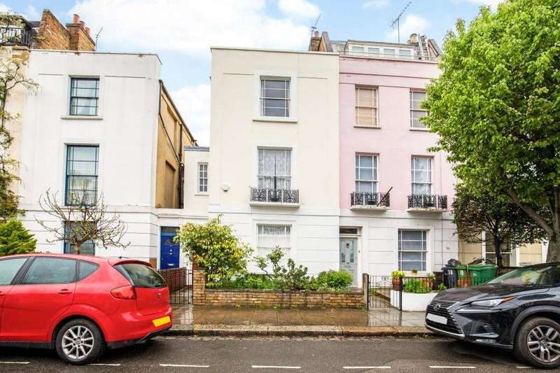 3 Bedrooms Terraced House for sale in Rochester Road, Camden, London, NW1