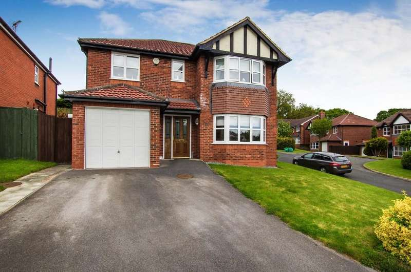 4 Bedrooms Detached House for sale in Eirias View, Colwyn Bay