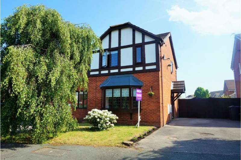 3 Bedrooms Semi Detached House for rent in Lapwing Court, Liverpool, L26