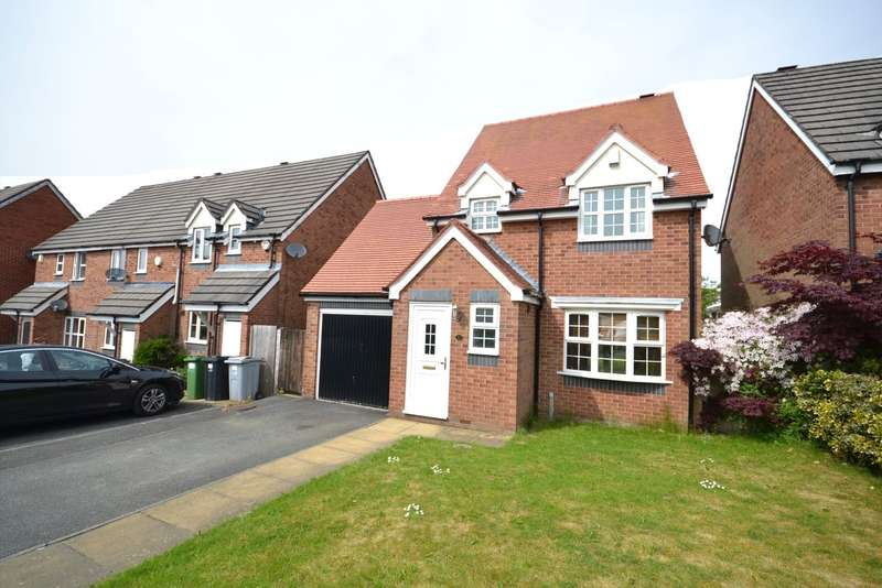 3 Bedrooms Detached House for sale in Watermill Drive, Macclesfield