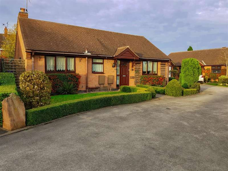 2 Bedrooms Bungalow for sale in Dovedale Close, Edwinstowe, Mansfield