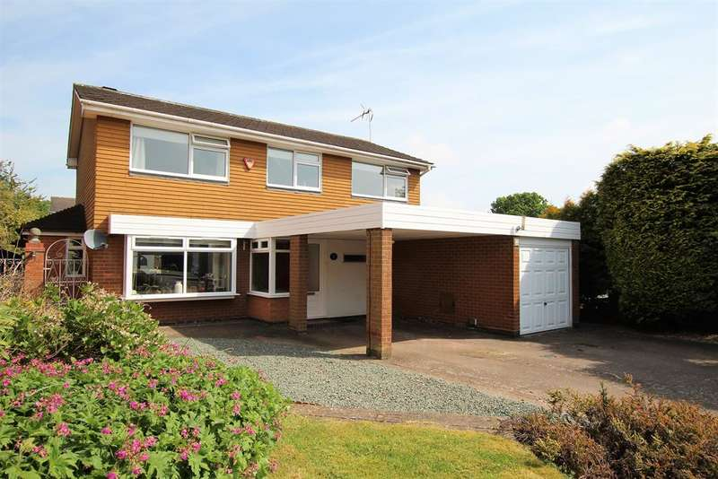4 Bedrooms Detached House for sale in Eastnor Close, Southcrest, Redditch, B98 7NW