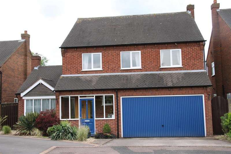 4 Bedrooms Detached House for sale in Walrand Close, Wigginton, Tamworth