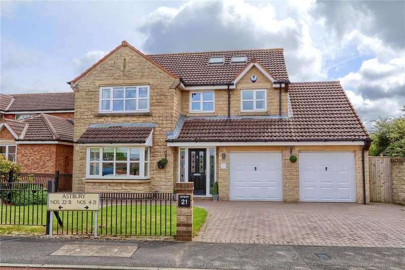 5 Bedrooms Detached House for sale in Astbury, Marton