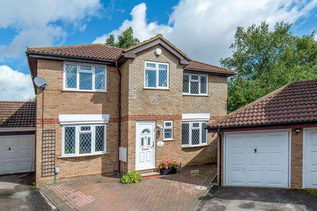 4 Bedrooms Detached House for sale in Tylers Mead, Luton, LU2