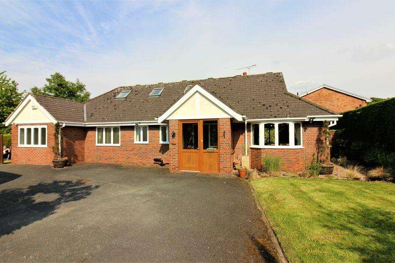 3 Bedrooms Detached Bungalow for sale in Church Lane, Guilden Sutton, Chester