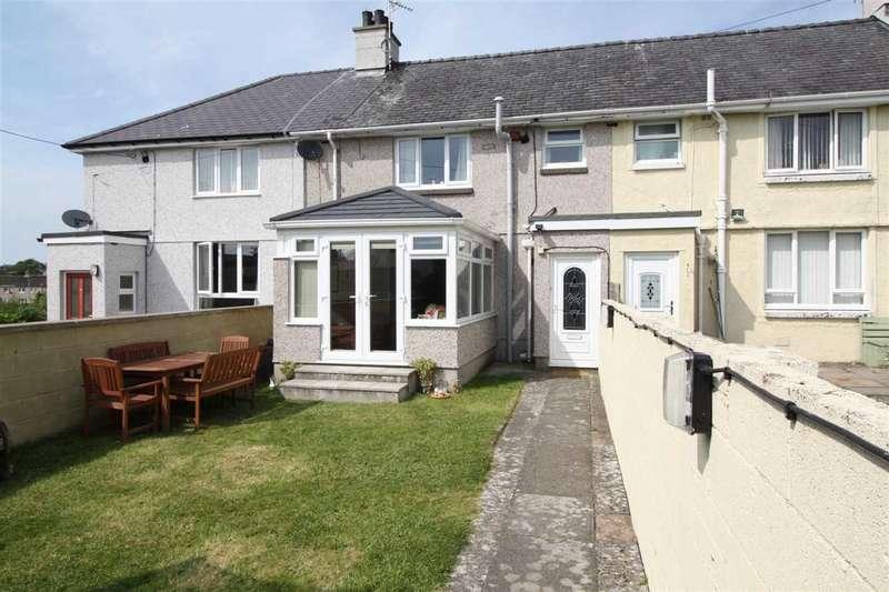 3 Bedrooms Terraced House for sale in Maes Hyfryd, Llanfairpwll