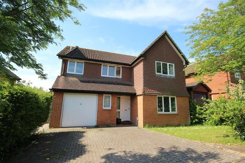 4 Bedrooms Detached House for sale in Poundfield Way, Twyford, Reading, RG10