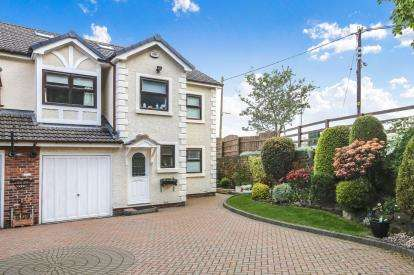 4 Bedrooms Semi Detached House for sale in The Moorings, Disley, Stockport, Cheshire