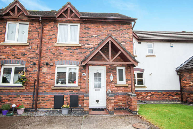 3 Bedrooms Terraced House for sale in Wardle Mews, Middlewich, CW10