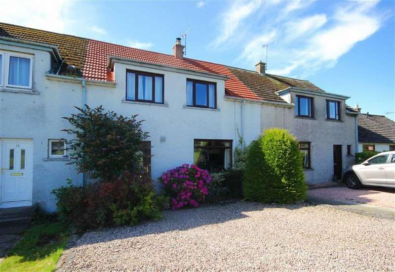 3 Bedrooms Terraced House for sale in 14, Straiton Terrace, Balmullo, Fife, KY16
