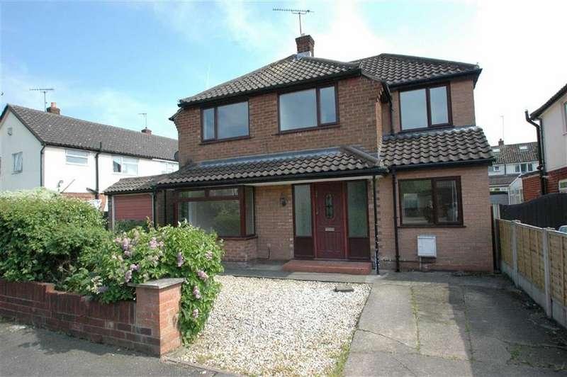 4 Bedrooms Detached House for sale in Ellesmere Avenue, Upton, Chester