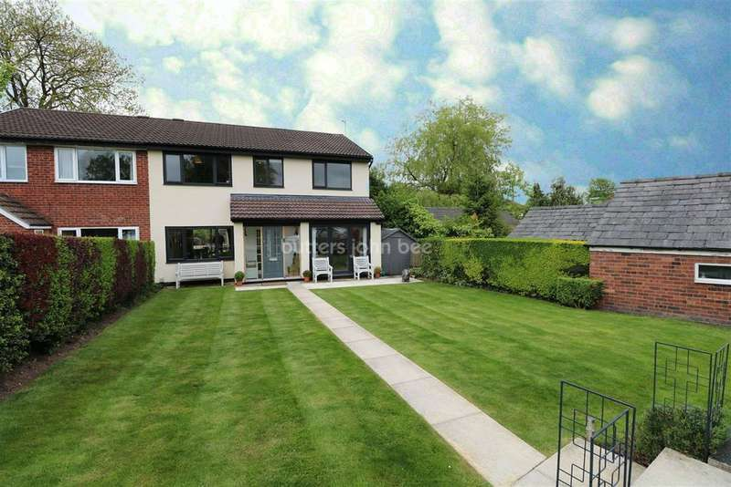 5 Bedrooms Semi Detached House for sale in Bromley Road, Macclesfield