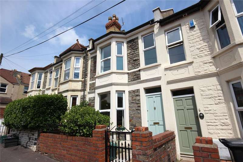 3 Bedrooms Terraced House for sale in Ramsey Road, Horfield, Bristol, BS7
