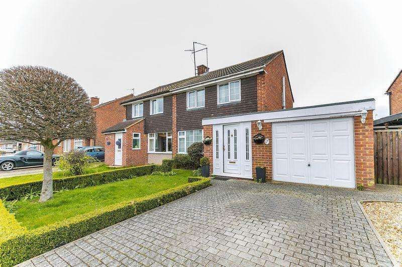 3 Bedrooms Semi Detached House for sale in Longville, Old Wolverton