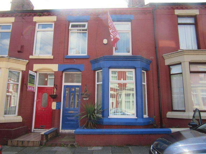 3 Bedrooms Terraced House for sale in Elstree Road, Liverpool, L6 8NU