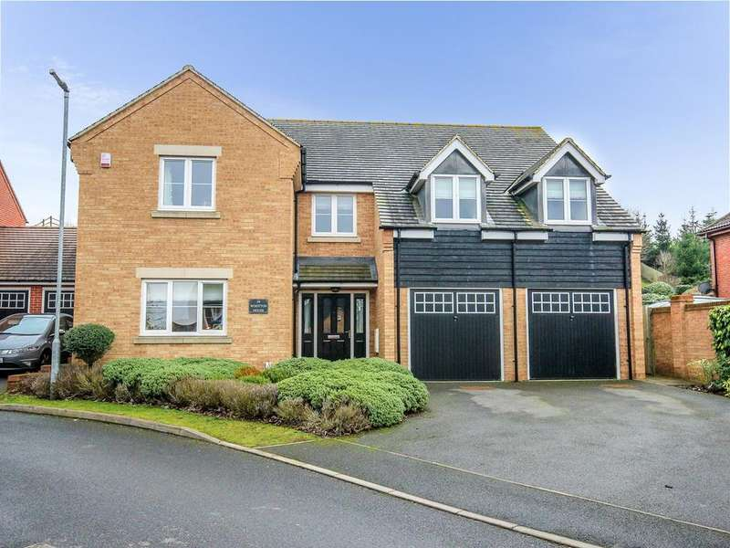 5 Bedrooms Detached House for sale in Maple Close, Pulloxhill, MK45