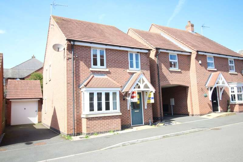 3 Bedrooms Detached House for sale in Champlain Way, Earl Shilton, Leicester, LE9