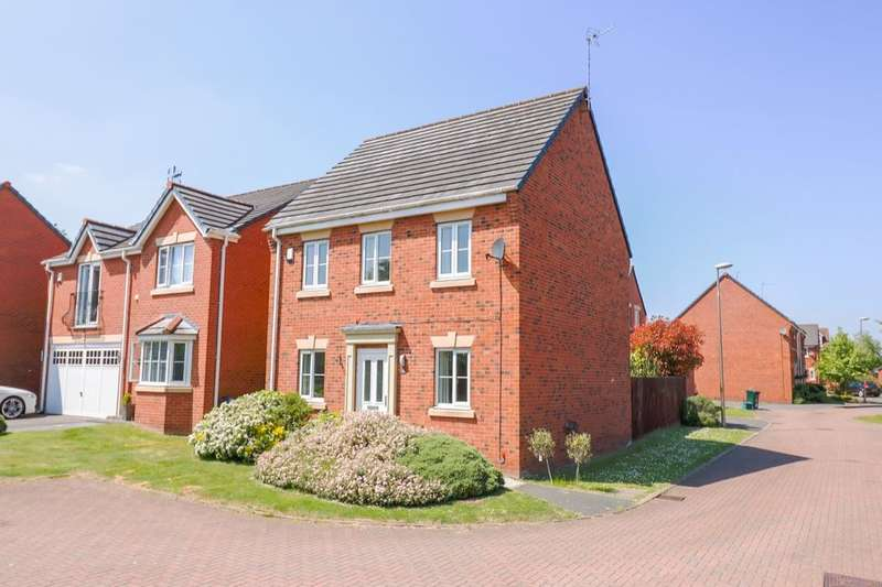 4 Bedrooms Detached House for sale in Atlas Way, Ellesmere Port, CH66