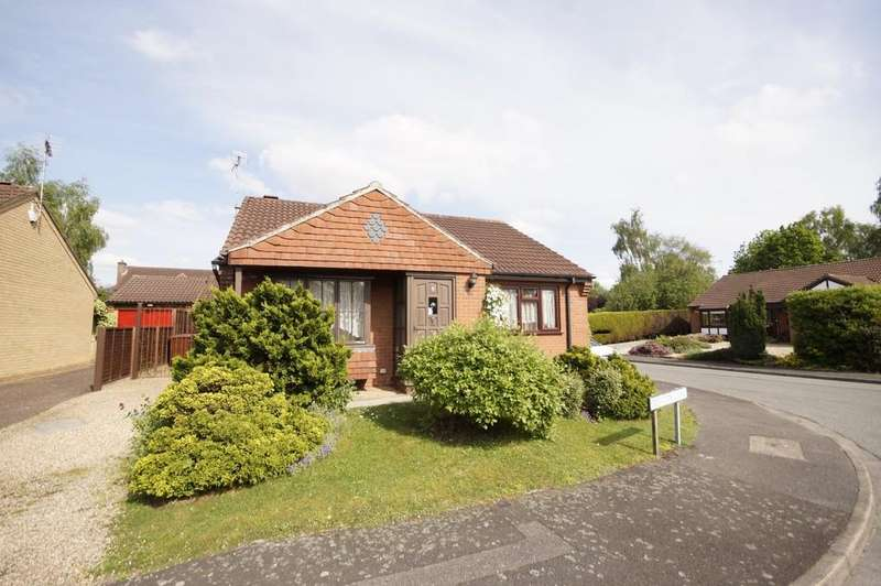 2 Bedrooms Detached Bungalow for sale in Doulton Close, Lincoln