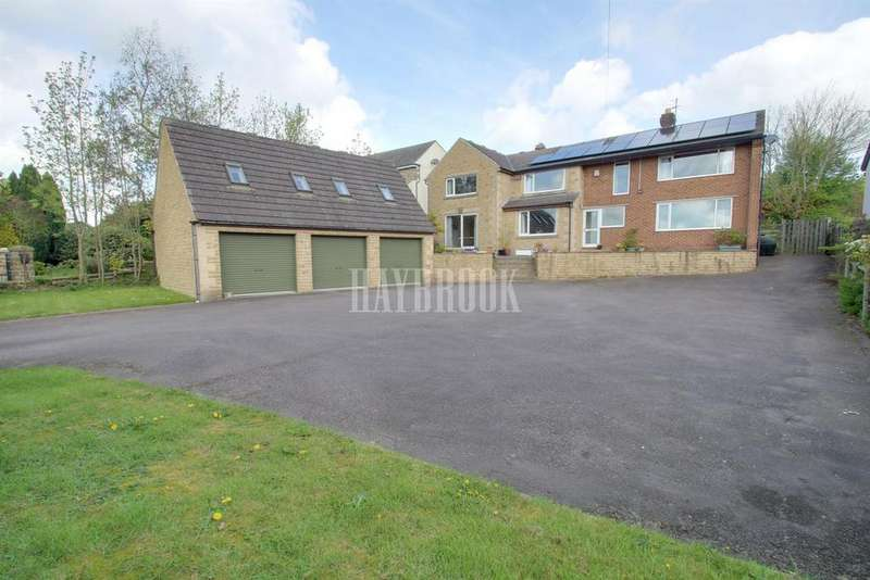 5 Bedrooms Detached House for sale in Westfield Lane, Middle Handley