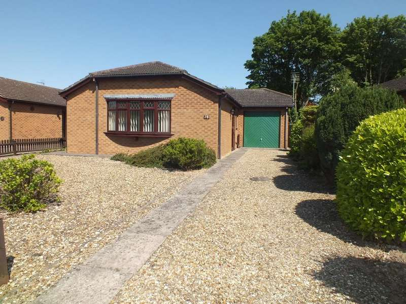 2 Bedrooms Detached Bungalow for sale in Rembrant Way, Spalding