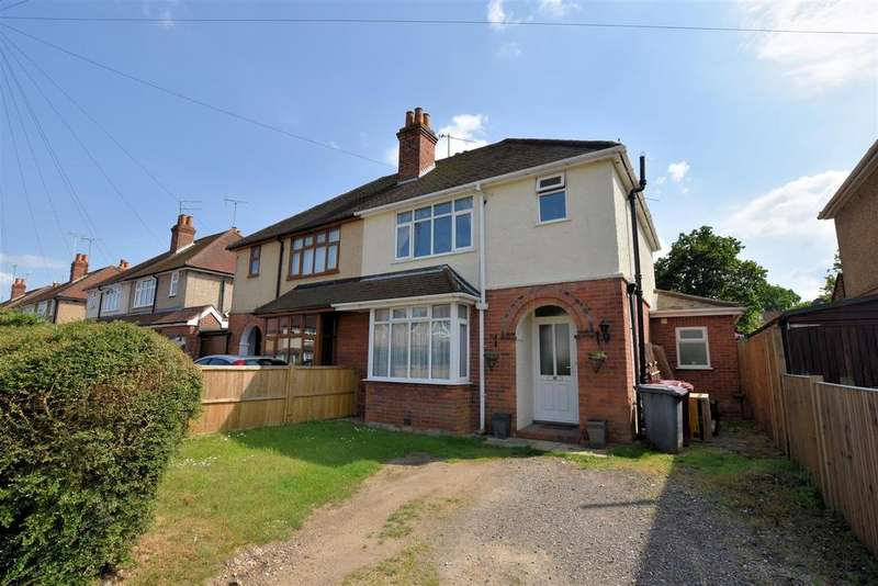 3 Bedrooms Semi Detached House for sale in Gratwicke Road, Tilehurst, Reading