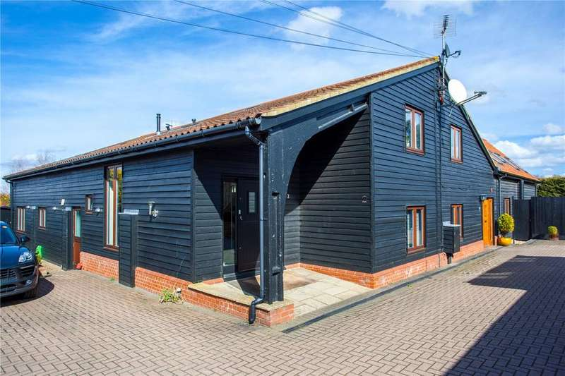 4 Bedrooms Link Detached House for sale in Alderwood Barns, New Farm Drive, Abridge, Essex, RM4