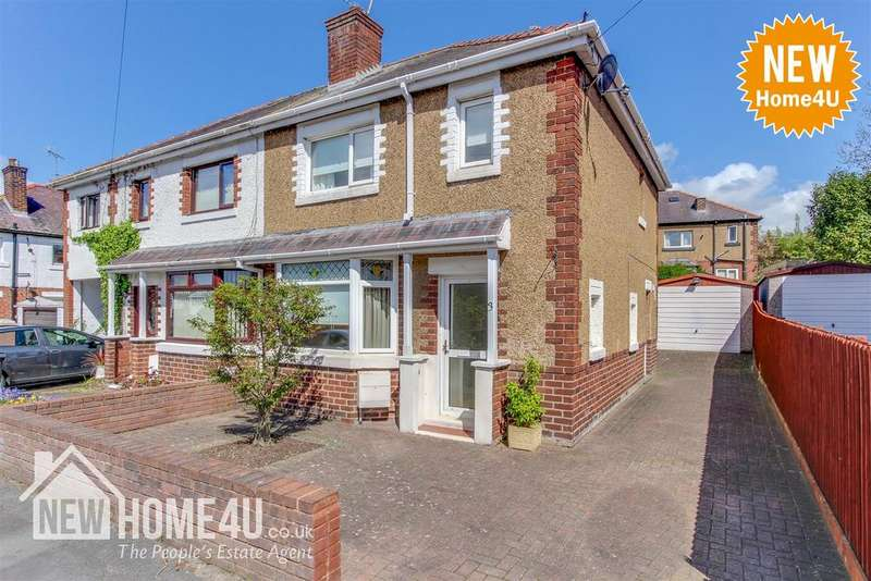 3 Bedrooms Semi Detached House for sale in West View, Penyffordd, Chester