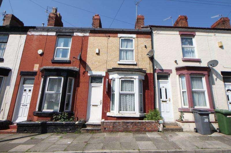 2 Bedrooms Terraced House for sale in Moorland Road, Birkenhead