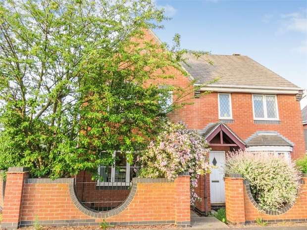 3 Bedrooms Semi Detached House for sale in Kingfisher Road, Mountsorrel, Loughborough, Leicestershire
