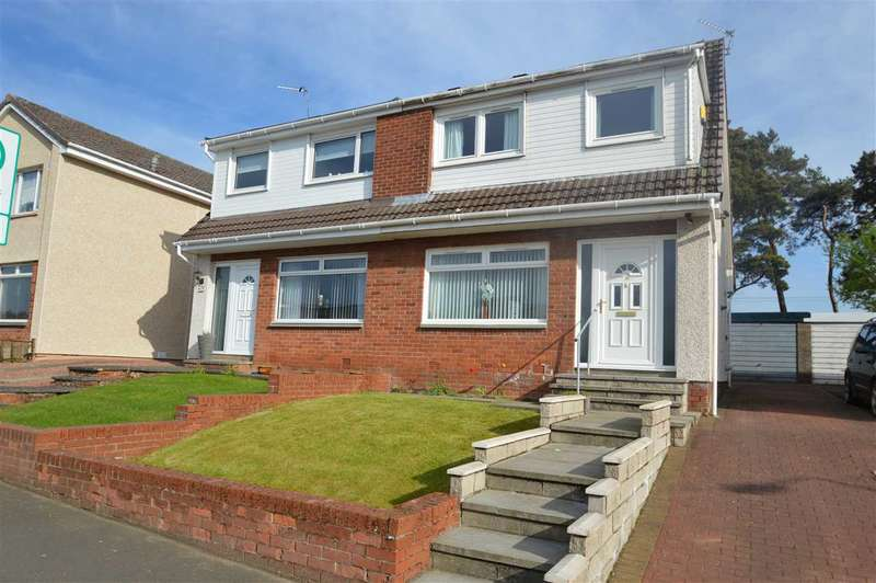 3 Bedrooms Semi Detached House for sale in Muirhead, Stonehouse